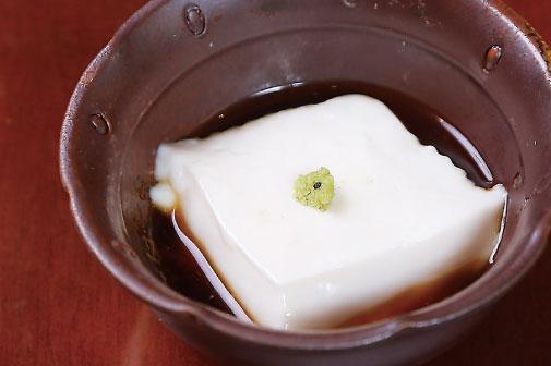 ジーマーミー豆腐の写真