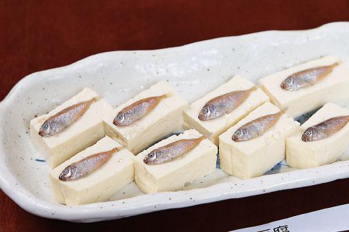 スクガラス豆腐の写真