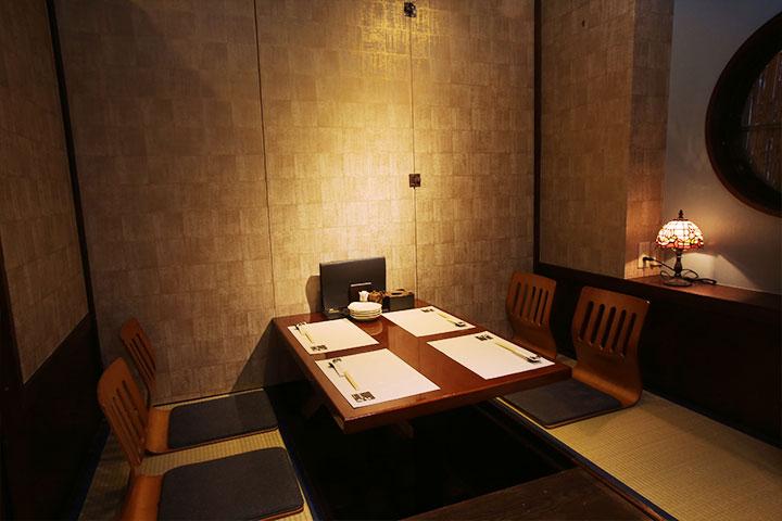 個室4名様|創作沖縄料理 二幸