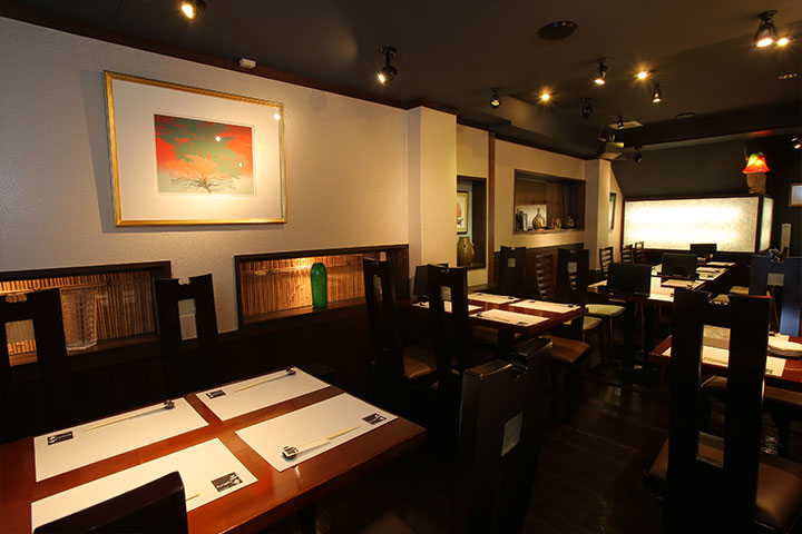 テーブル席|創作沖縄料理 二幸